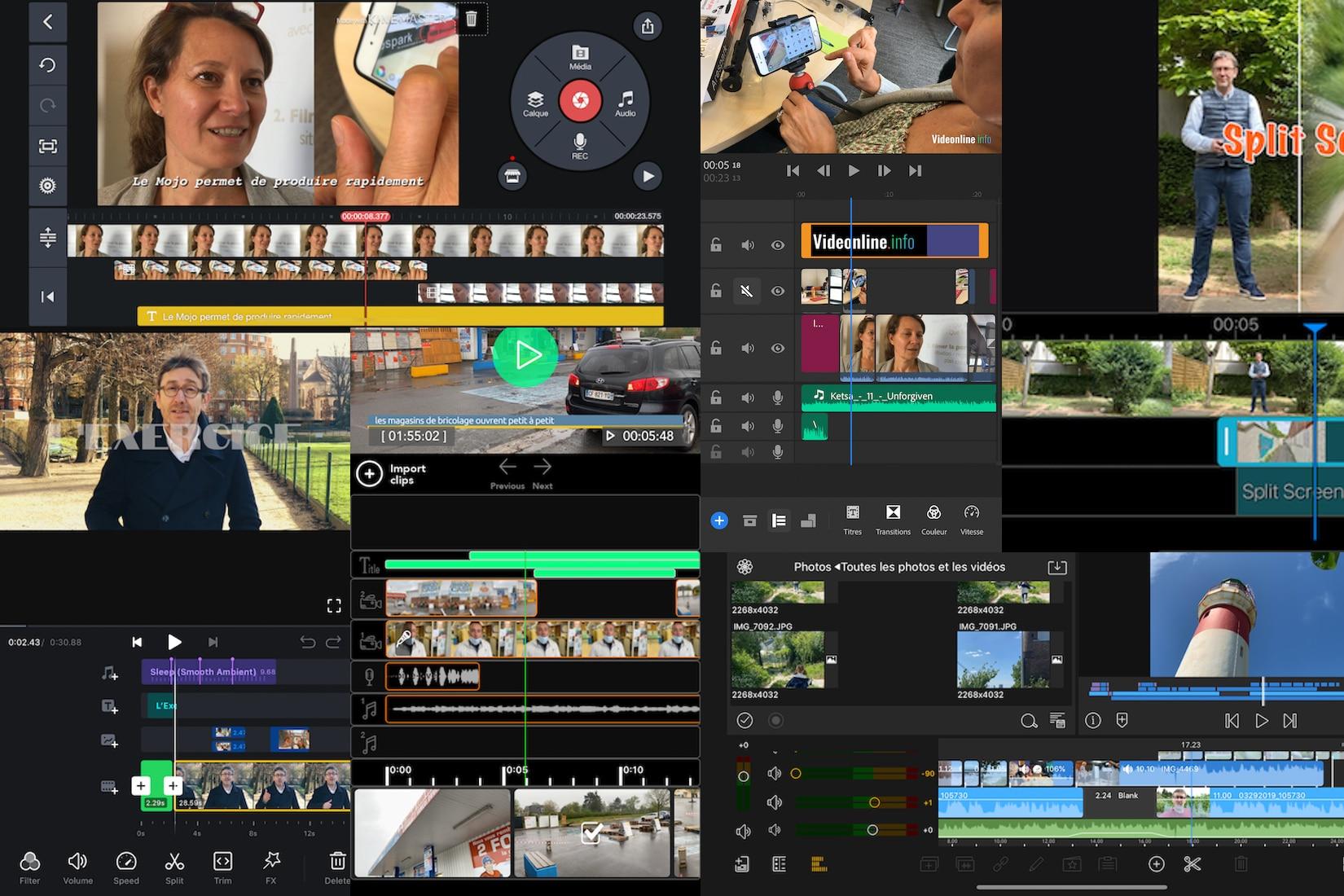 Les 6 Meilleures Applis De Montage Video Pro Sur Smartphone Videonline Info